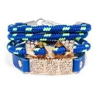 Blue Sporty Bracelet Set