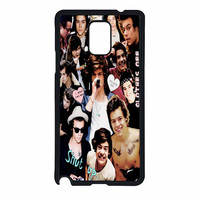 Harry Styles One Direction Collage Clothes Off Samsung Galaxy Note 4 Case