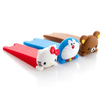 Baby Cartoon Doorstop Door Clip