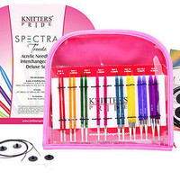 Knitters Pride Spectra Trendz Acrylic Interchangeable Deluxe Knitting Needle Set