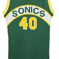 Shawn Kemp Seattle Supersonics Adidas NBA Throwback Swingman Jersey - Green