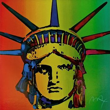 Liberty Head (Retro Suite I), Limited Edition Silkscreen, Peter Max