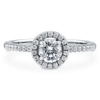 Sterling Silver Round Cubic Zirconia CZ Halo Ring 0.63 ct.twBe the first to write a reviewSKU# R569-CL