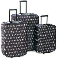 Skull Pattern Luggage Set