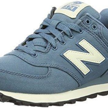 new balance women s 574 waxed canvas pack fashion sneaker
