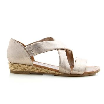 Cross Wrap Espadrille Sandals