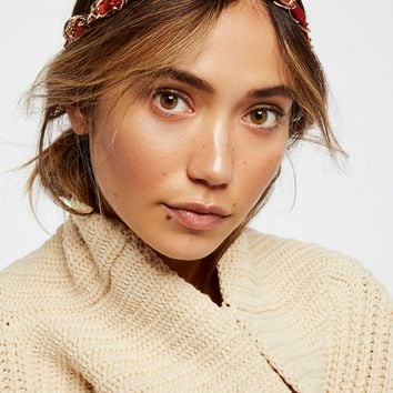 Free People Chained Velvet Headband