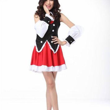 DCCKH6B Rabbit ears Kurousagi Cosplay costumes Carnival costume for women anime clothes Maid costume fancy dress