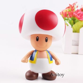 Super Mario party nes switch  Bro Figure Toad Action Figure PVC Collectible Toy for Kids Gift 10cm KT4753 AT_80_8