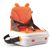 BenBat YummiGo - All-in-One Booster on the Go and Storage Case - Orange - BenBat - High Chairs - FAO Schwarz®