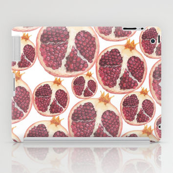 pomegranate iPad Case by Austeja Saffron