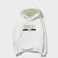 GUCCI Hooded Fashion Long Sleeve Top Sweater Hoodie Sweatshirt One-nice™