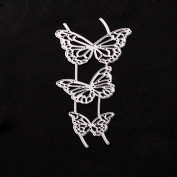 For DIY Scrapbooking Photo Album Paper Card Craft A cute butterfly Embossing Metal Cutting Dies Stencils Scrapbooking