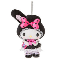 My Melody Mascot Charm Boa Plush Doll Key Chain Halloween 2014 SANRIO JAPAN