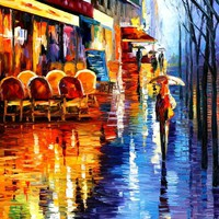 CAFE IN PARIS - LEONID AFREMOV by *Leonidafremov on deviantART