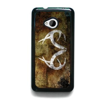 REALTREE DEER CAMO HTC One M7 Case Cover