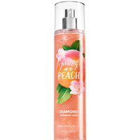 Pretty as a Peach Diamond Shimmer Mist - Signature Collection | Bath And Body Works