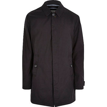 River Island MensNavy Only & Sons trench coat