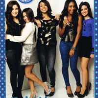 "5TH - FIFTH HARMONY 5H - TEEN GIRL GROUP - 11"" x 8"" MAGAZINE PINUP - POSTER - 15"