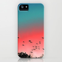 Birds Flying High iPhone & iPod Case by Ben Geiger