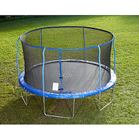 Stats Trampoline with Steel Flex Enclosure - 14 foot