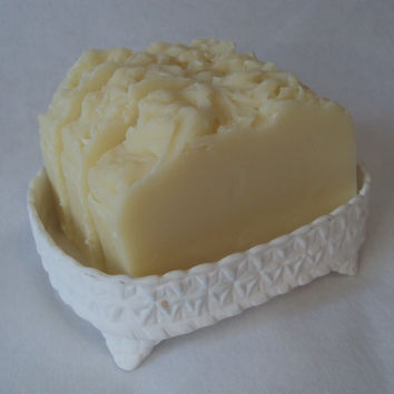 Tea Tree Shampoo Soap Slice / vegan Hot process soap