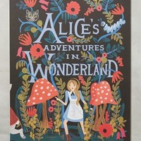 Alice's Adventures In Wonderland 2016 Calendar by Rifle Paper Co. Black Motif One Size Office