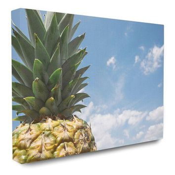 DCCKHB3 Stupell | Pineapple in the Sky Canvas Art - 11x14
