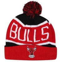'47 Brand Chicago Bulls Calgary Cuffed Knit Hat - Red/Black