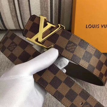 Authentic LV belt