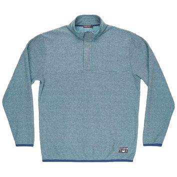 Eagle Trail Pullover in Slate and Mint Trail by Southern Marsh