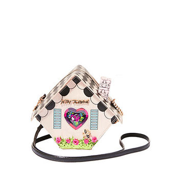 KITSCH HOME TWEET HOME CROSSBODY: Betsey Johnson