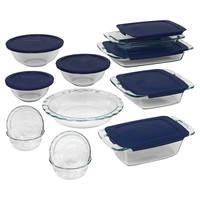 Pyrex Easy Grab 19-pc. Bakeware Set (Clear)