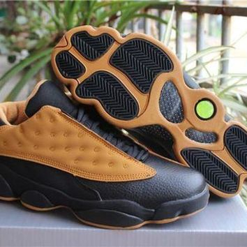 DCK7YE Air Jordan Retro 13 Low Chutney Men Basketball Shoes 13s Chutney Yellow Sports Sneaker