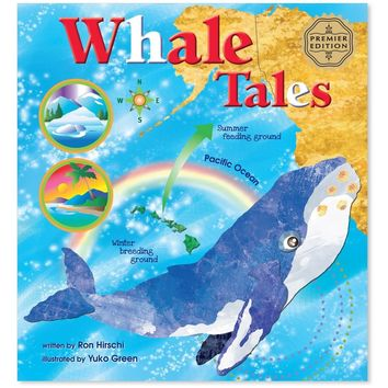 """Whale Tales"" Children's Book (Hardcover)"