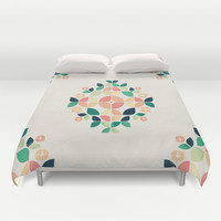 The Bouquet Duvet Cover by VessDSign | Society6