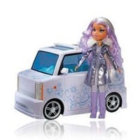 Bratz Platinum Shimmerz RC Vehicle and Doll Yasmin