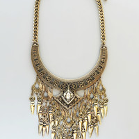 Uzbeki Gold Necklace