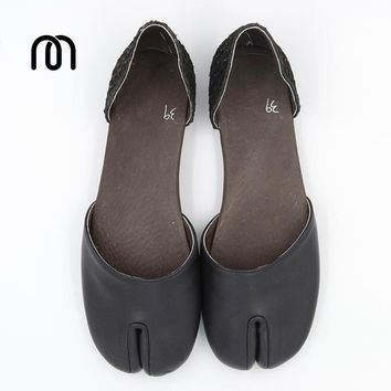 Millffy handmaking medieval scales leather heel sandals shoes handmade custom ninja paragraph