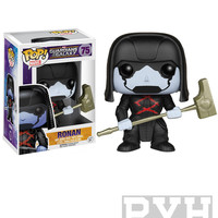 Funko Pop! Marvel: Guardians Of The Galaxy - Ronan - Vinyl Bobble Head - VAULTED (RETIRED)