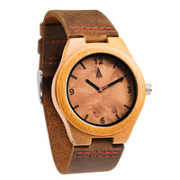 Wooden Watch // Maple Burl Small