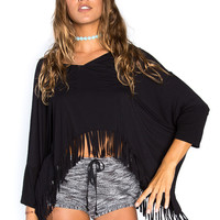 Playa Nights Fringe Top