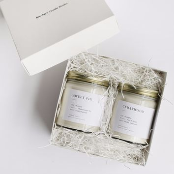 Pick 2 Minimalist Candles Boxed Set