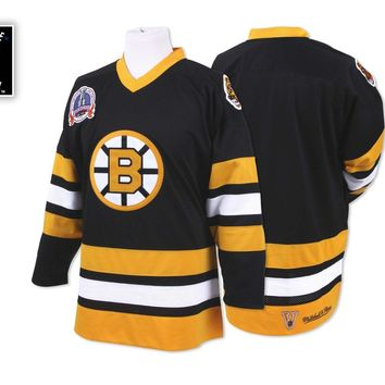 Mitchell & Ness 1989-90 Authentic Jersey Boston Bruins In Black - Beauty Ticks