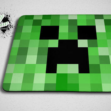 Minecraft Creeper Mouse Pad - Custom Mousepad Accessory