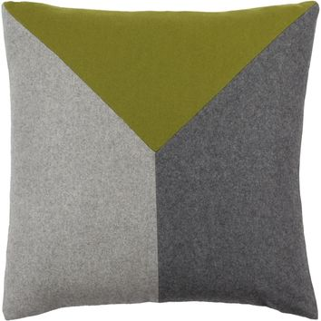 Jonah Throw Pillow Green, Black