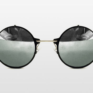 Infinity Silver Mirrored Sunglasses by Spitfire