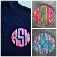 Lilly Pulitzer 1/4 zip sweatshirt