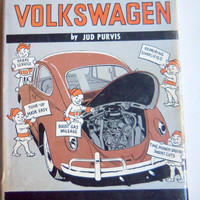Vintage Fix Your Volkswagen Book 1968