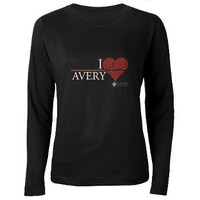 I Heart Avery - Grey's Anatomy Women's Long Sleeve> Grey's Anatomy TV Store